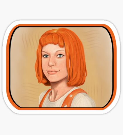 Leeloo. Sticker