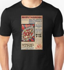 Andy Warhol The Plastic Inevitable Show Unisex T-Shirt