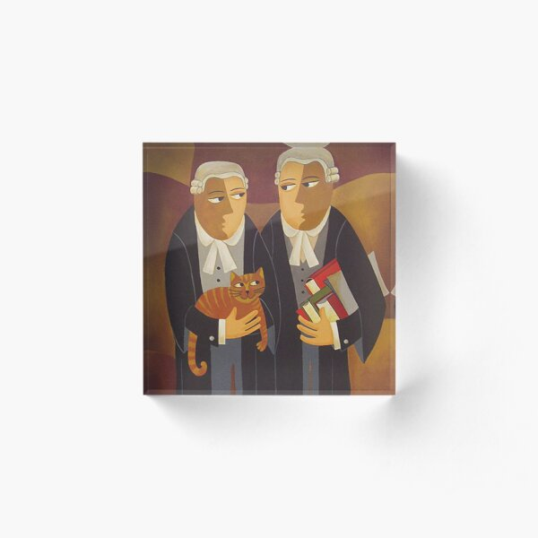THE DEFENDANT Acrylic Block