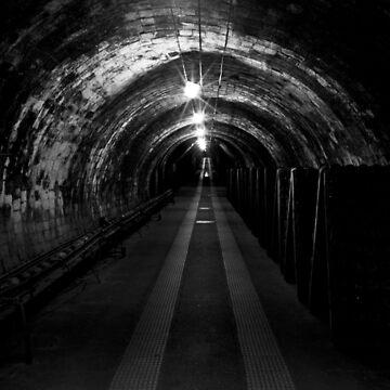 The Darkest Tunnel by Chocolat