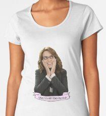 Tina Fey - What Would Tina Fey Do? Women's Premium T-Shirt