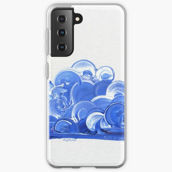 Blue Clouds Samsung Galaxy Soft Case