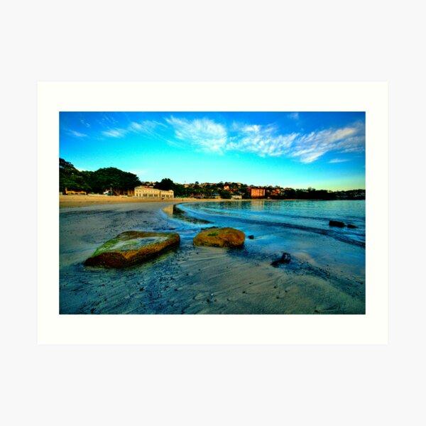 Blue Dawn - Balmoral Beach - The HDR Experience Art Print