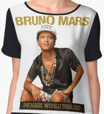 24K Magic World Tour Chiffon Top