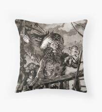 LeChuck's Revenge Engraving Throw Pillow