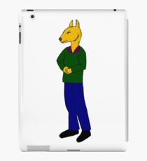 Arnold the bull-terrier iPad Case/Skin