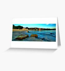 Blue Dawn - The Photographers Cut - Balmoral Beach - The HDR Experience Greeting Card