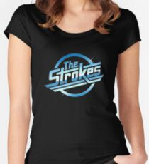 The Strokes Tshirt Women's Fitted Scoop T-Shirt