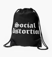 SOCIAL DISTORTION  Drawstring Bag