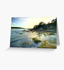 On The Rocks - Balmoral Beach - The HDR Experience Greeting Card