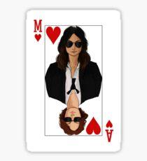 Queen of Hearts [Version 2 - Maggie] Sticker