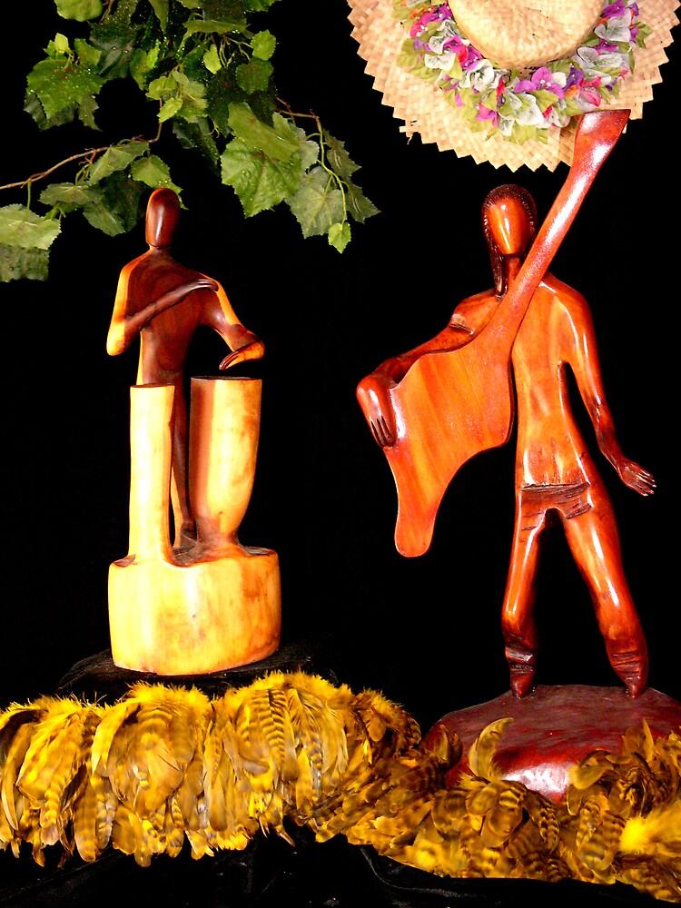 Polynesian Duo by Metrius