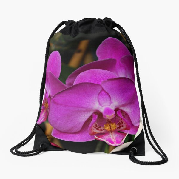 The lure of the orchid Drawstring Bag
