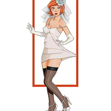 Bride Pin up by PikPikPik