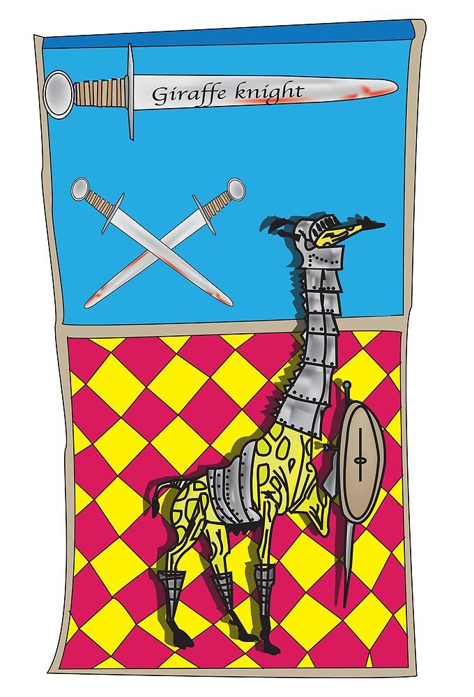 giraffe knight by Tyler Boyle