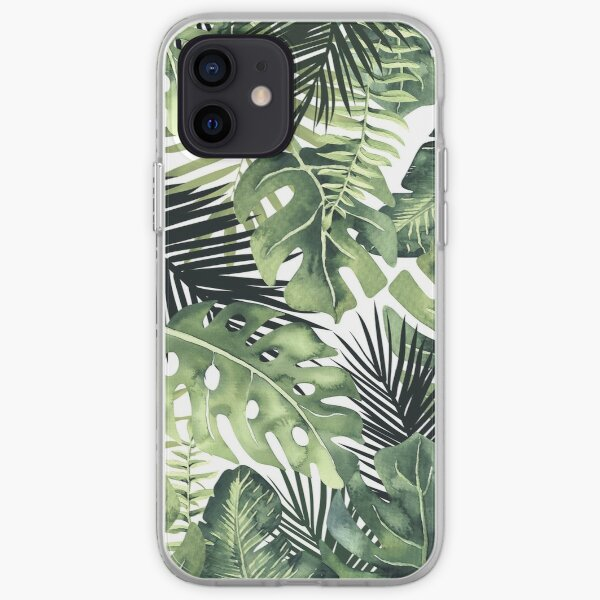 Tropical Leaves iPhone Soft Case