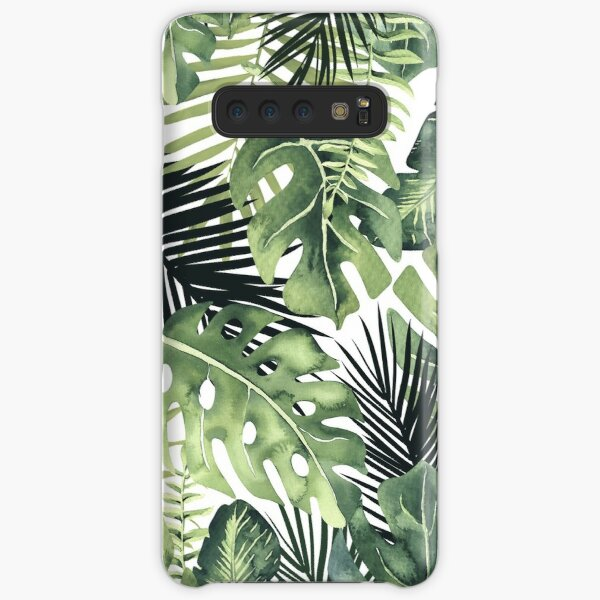 Tropical Leaves Samsung Galaxy Snap Case