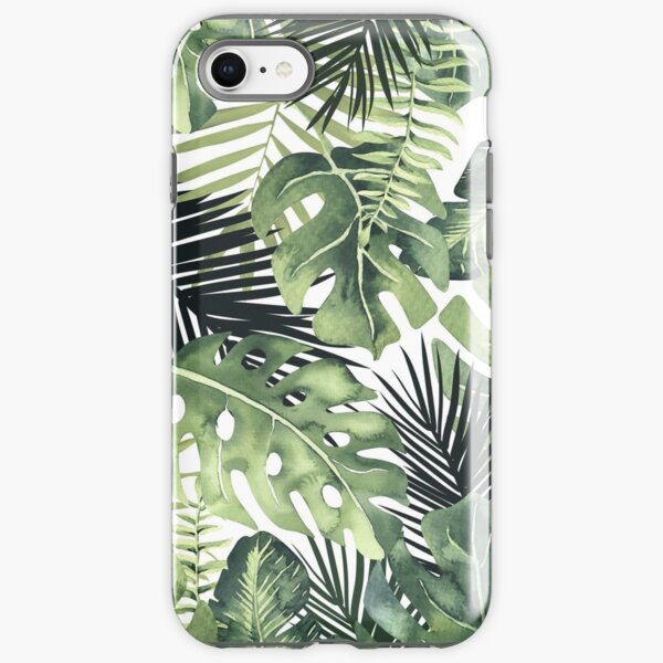 Tropical Leaves iPhone Tough Case