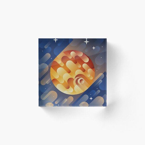 Jupiter Acrylic Block