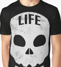 Choose life Skull. Graphic T-Shirt