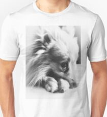 Monday Blues Pomeranian Unisex T-Shirt