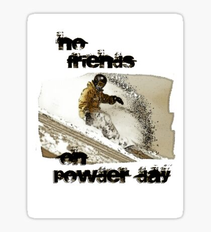 No friends T Sticker