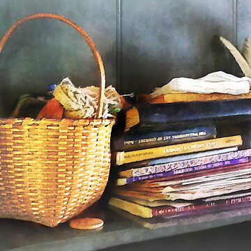 Americana - Books Basket and Quills by SudaP0408
