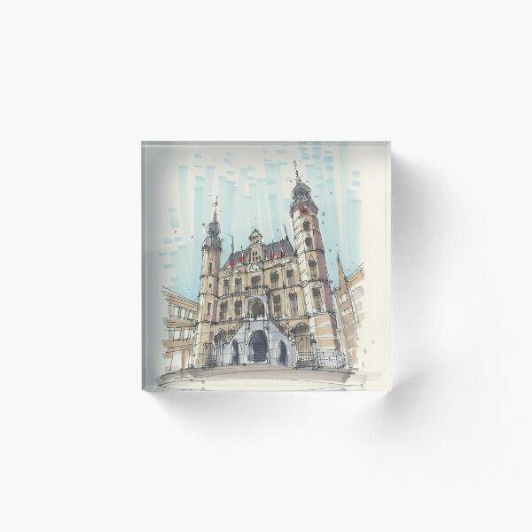 Venlo Old City Hall Acrylic Block