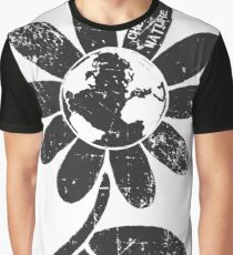 Choose Nature Earth daisy flower. Graphic T-Shirt