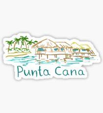 Pegatina Panorama de Punta Cana