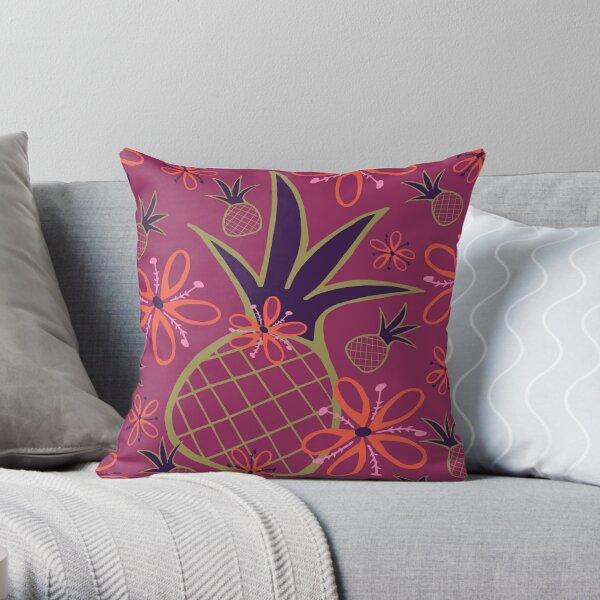 Pineapple Toss Throw Pillow