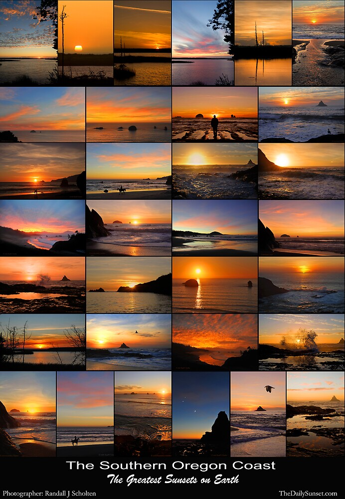 The Greatest Sunsets on Earth by Randall Scholten
