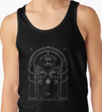 Lord of the Rings - Gates of Moria Ithilden Door Tank Top