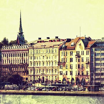 Helsinki Buildings  by ansaharju