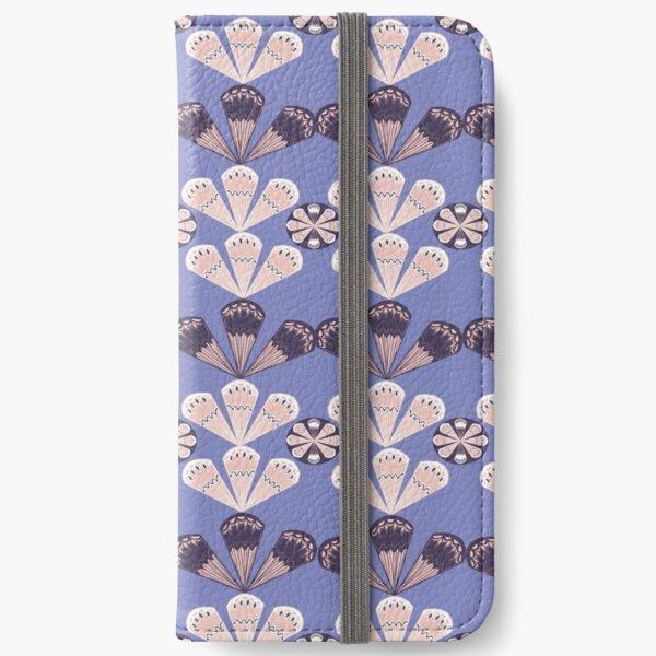 Fancy Fans - lilac iPhone Wallet