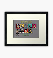 Mortal Kombat – Choose Johnny Cage Framed Print