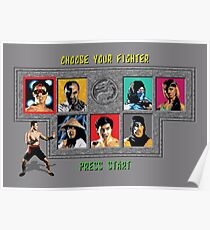 Mortal Kombat – Choose Johnny Cage Poster