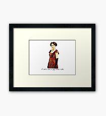 Give a Fig Framed Print