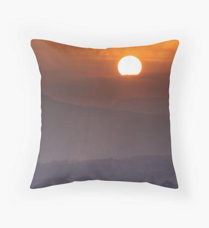 Sun-Up Throw Pillow