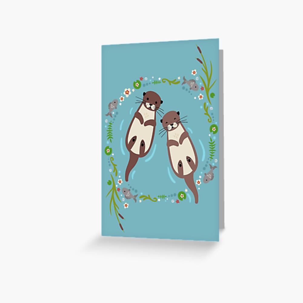 Mein bedeutender Otter Grußkarte