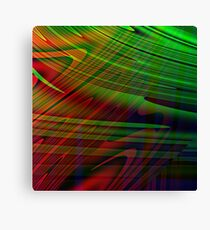 Linear Mirage Canvas Print