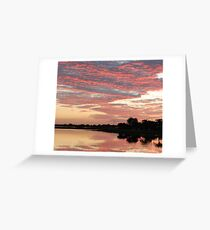 Lakefront Kissimmee, FL Greeting Card