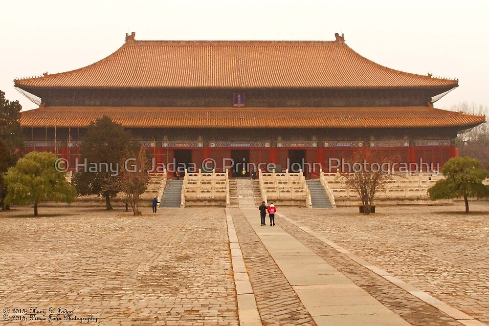 Welcome To The Ming Tombs © by © Hany G. Jadaa © Prince John Photography