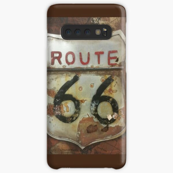 Route 66 on tin Samsung Galaxy Snap Case