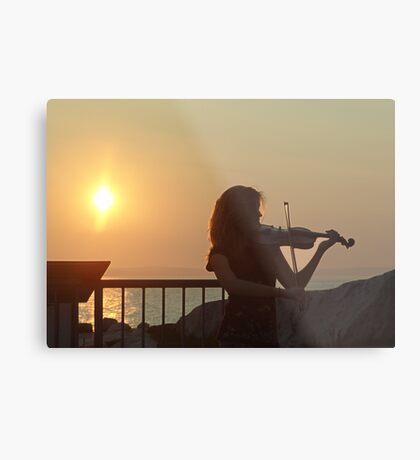 Serenade at Sunset Metal Print