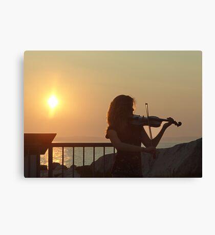 Serenade at Sunset Canvas Print