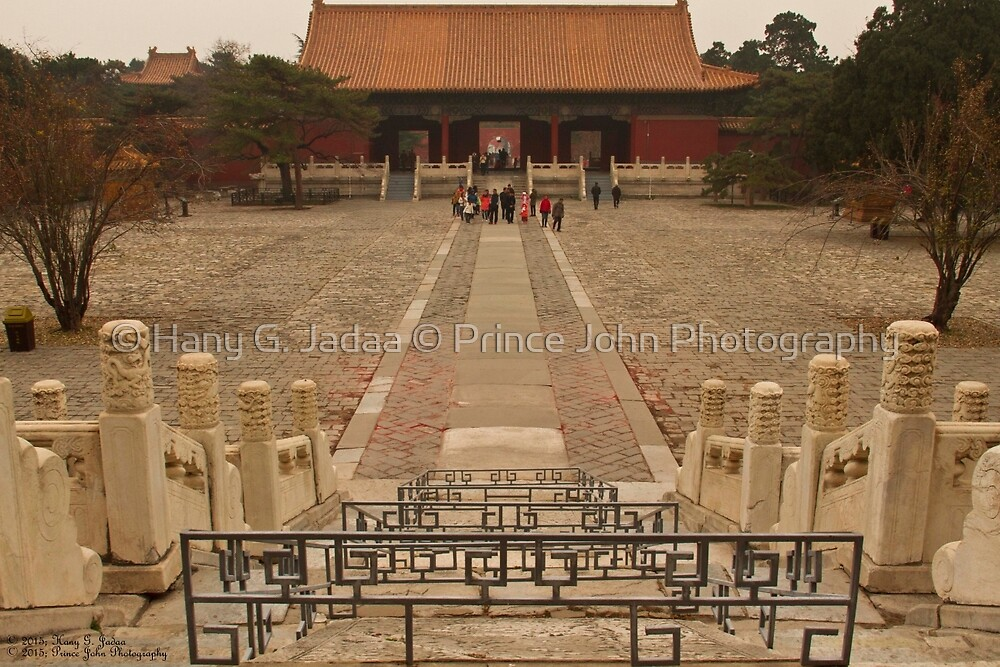 The Courtyard Of The Ming Tombs ©  by © Hany G. Jadaa © Prince John Photography