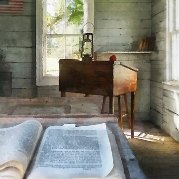 One Room Schoolhouse with Book by SudaP0408