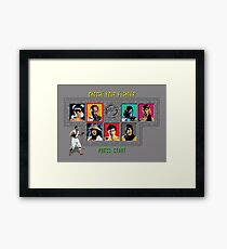 Mortal Kombat – Choose Kano Framed Print