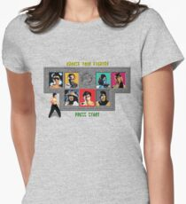 Mortal Kombat – Choose Liu Kang Women's Fitted T-Shirt